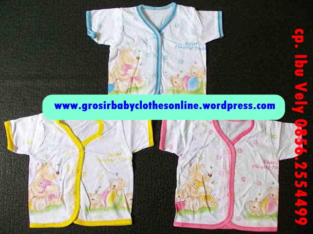 75 Contoh Baju Bayi Bahan Katun Terbaru